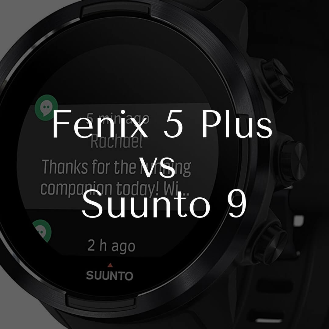 Fenix 5 Plus vs Suunto 9