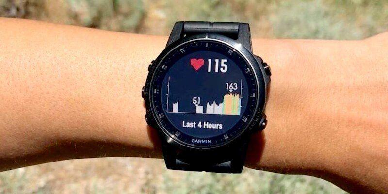 Fenix 5 plus sports watch with gps
