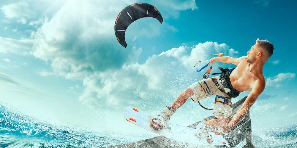 types of kitboarding kites