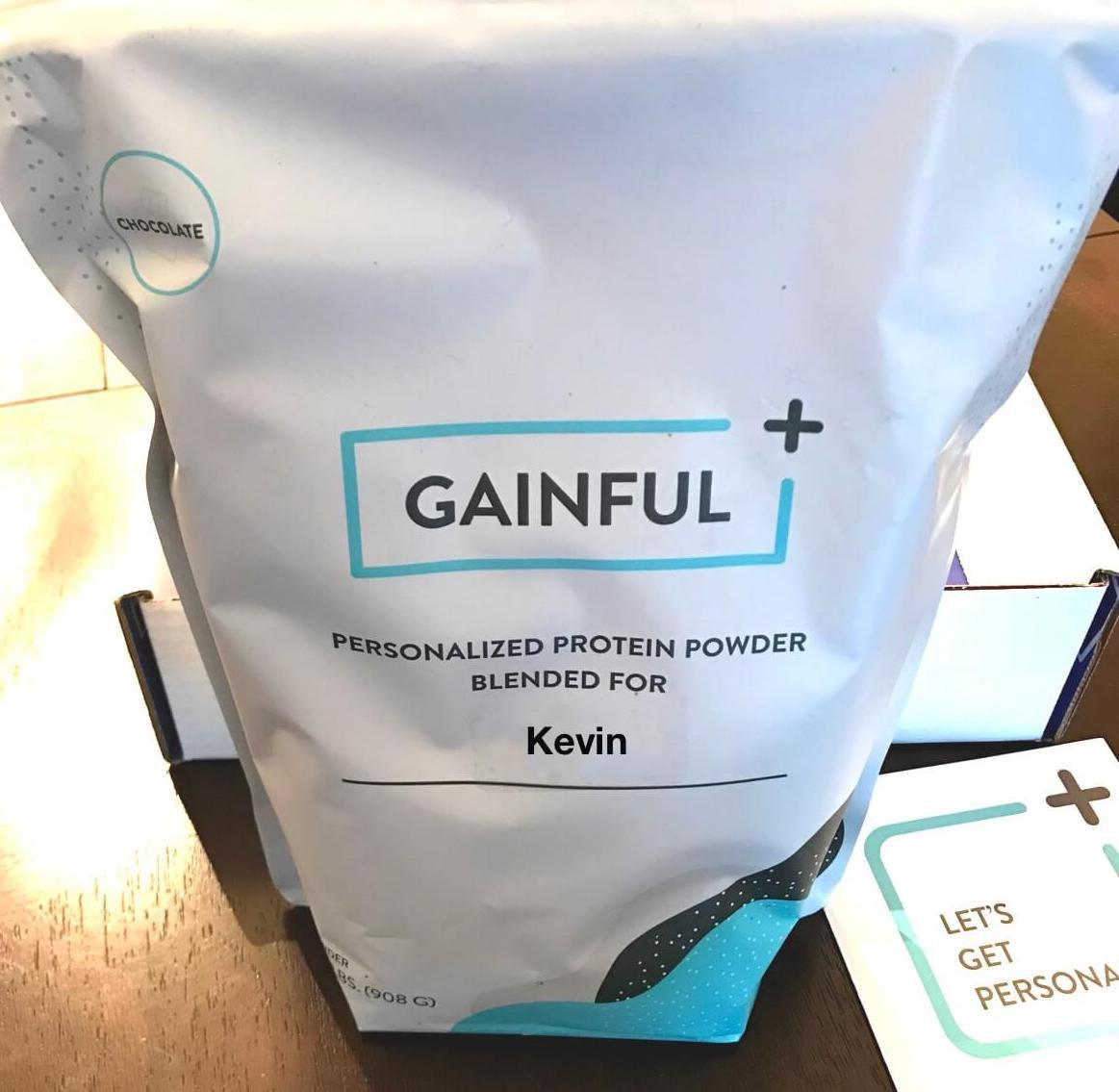 Gainful protein powder front