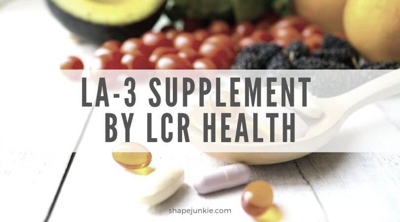 LA-3 Supplement by LCR Health review