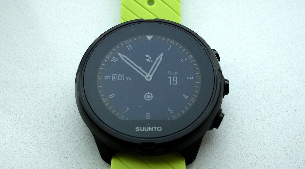 Suunto 9 display