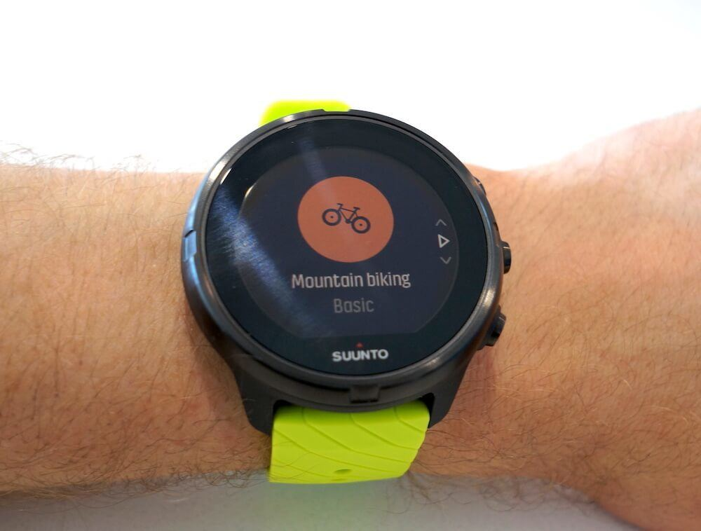 Suunto 9 training modes