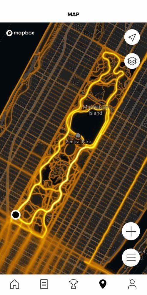suunto 9 heatmap