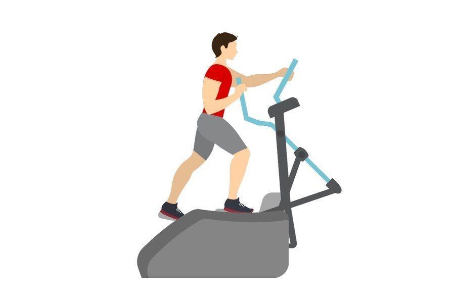 Best Cardio Exercises for Bad Knees - Elliptical Machine