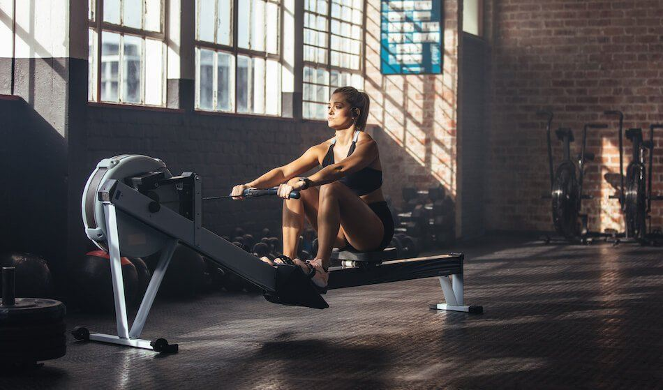 Best Cardio Exercises for Bad Knees - Rowing Machine