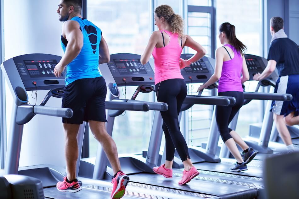 Best Cardio Exercises for Bad Knees - treadmill