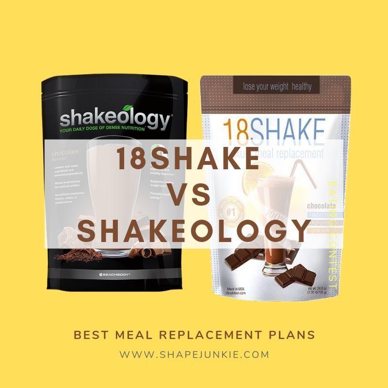 18Shake Versus Shakeology