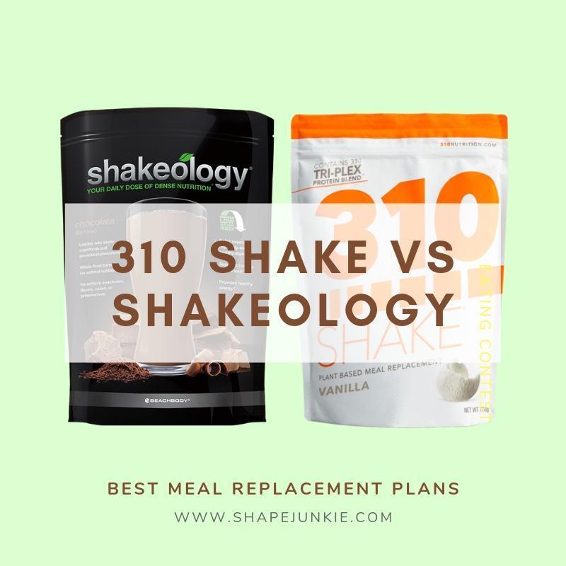310 Shake vs Shakeology