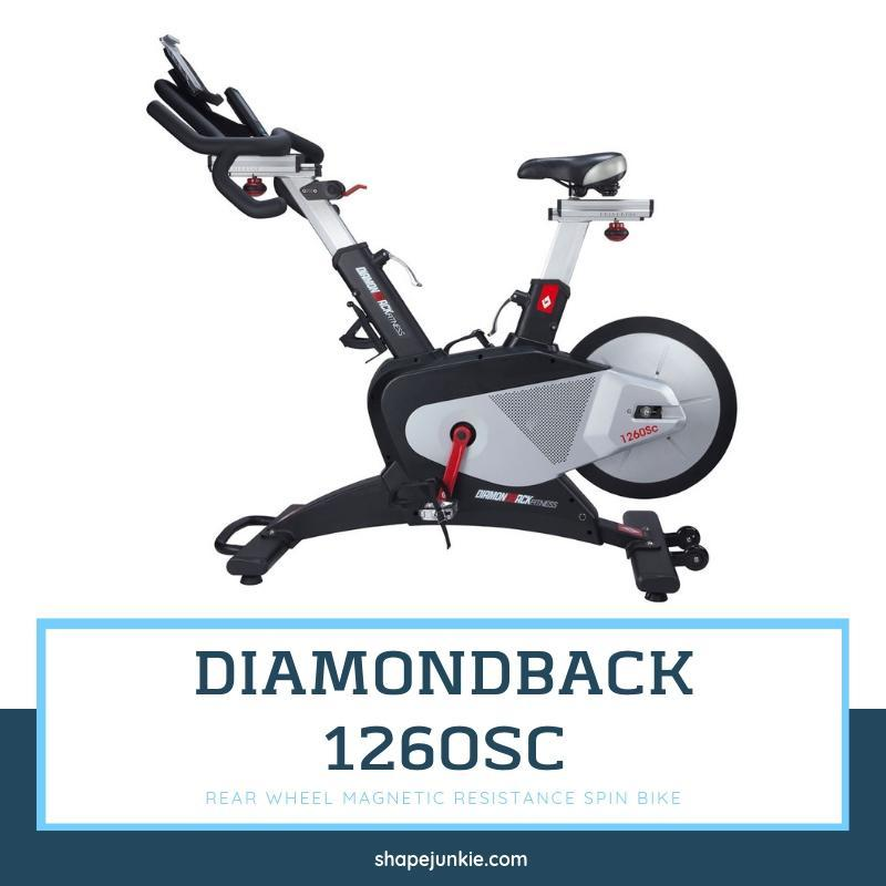 Diamondback Fitness 1260Sc Magnetic Resistance Spin Bike