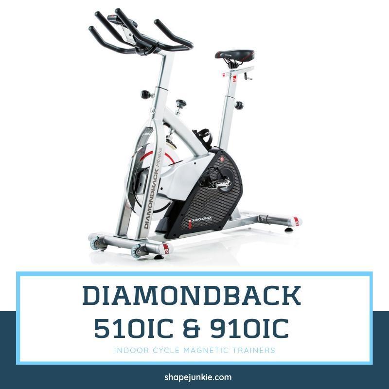 Diamondback Fitness 510Ic & 910Ic Indoor Cycle Magnetic Trainers