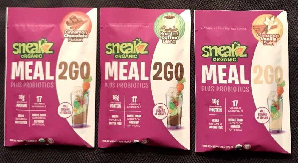 Sneakz Meal 2 Go 3 flavors