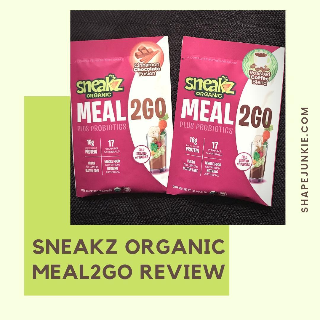 Sneakz Organic Meal2Go Complete Nutritional Shake Review