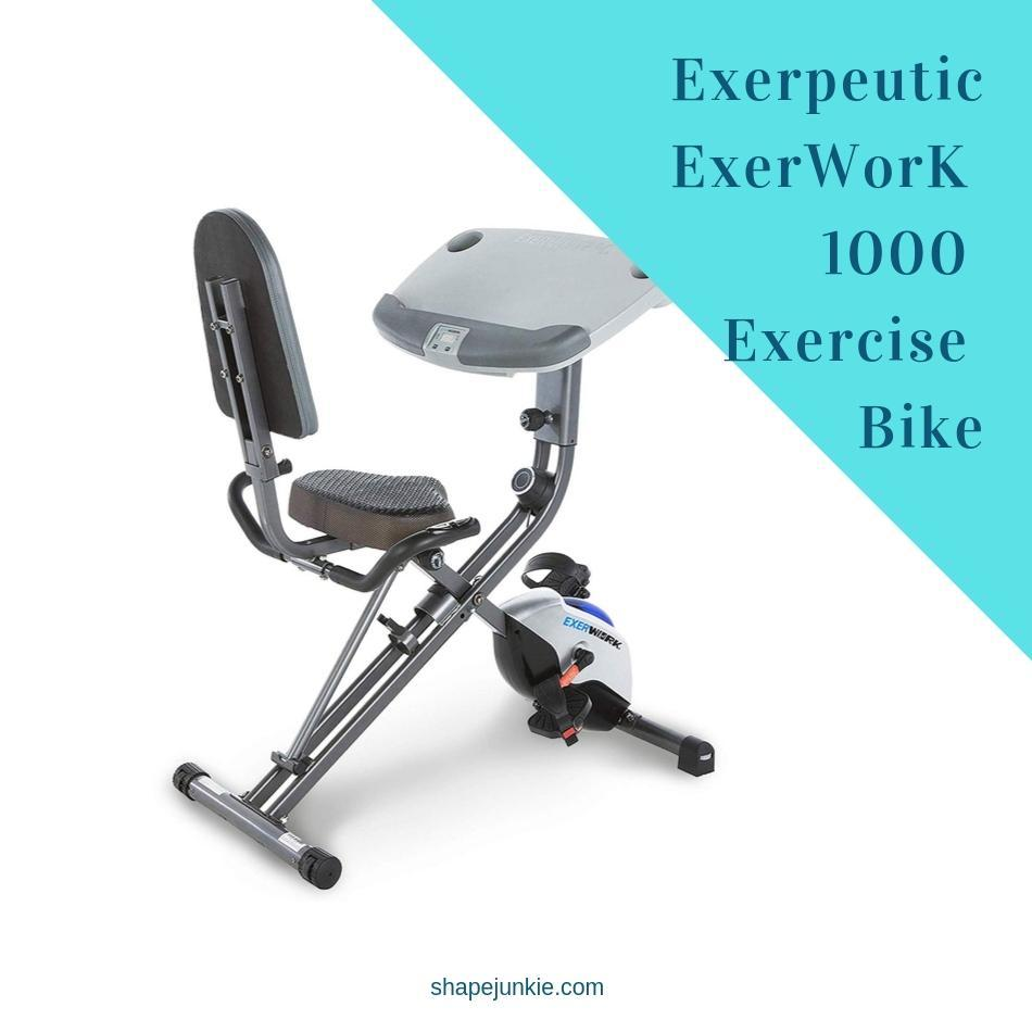 Exerpeutic ExerWorK 1000 Folding Exercise