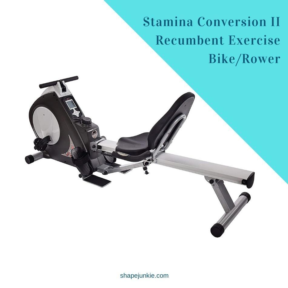 Stamina Conversion II Recumbent Exercise Bike_Rower