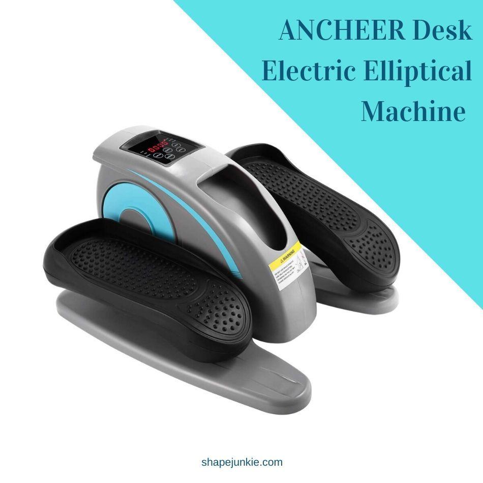 ANCHEER Desk Electric Elliptical Machine Trainer