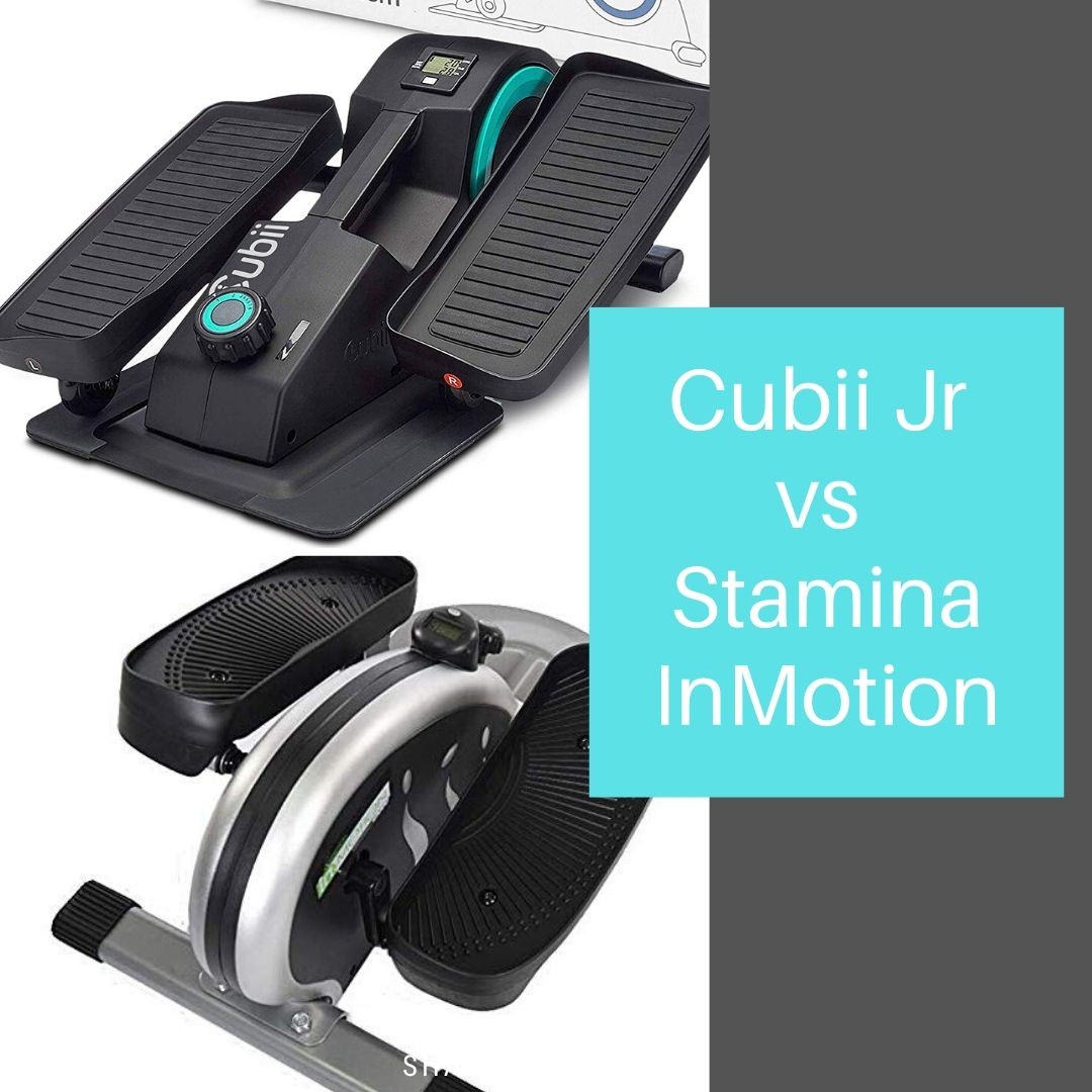 Cubii Jr vs Stamina In-Motion E1000