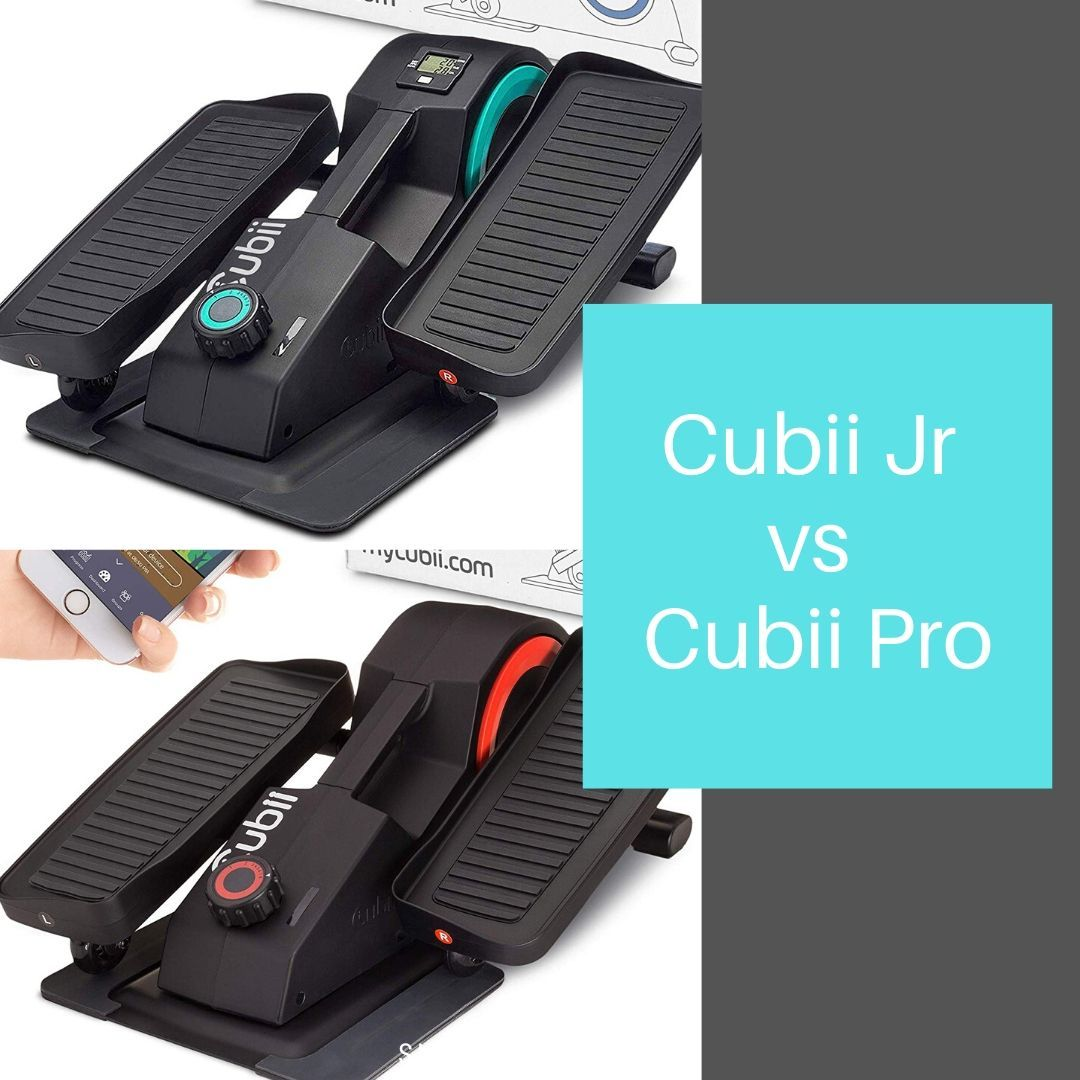 Cubii Jr vs. Cubii Pro comparison