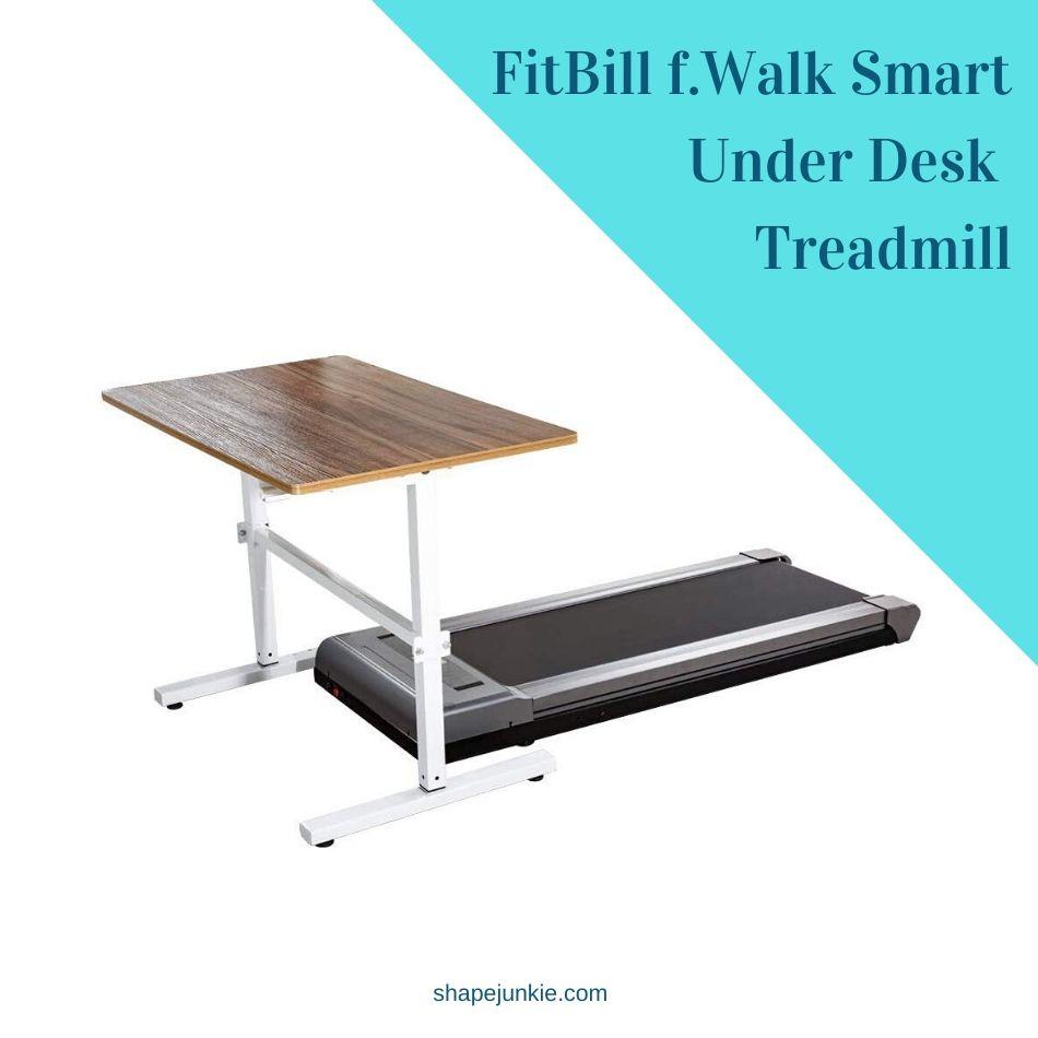 FitBill f.Walk Smart Under Desk Treadmill