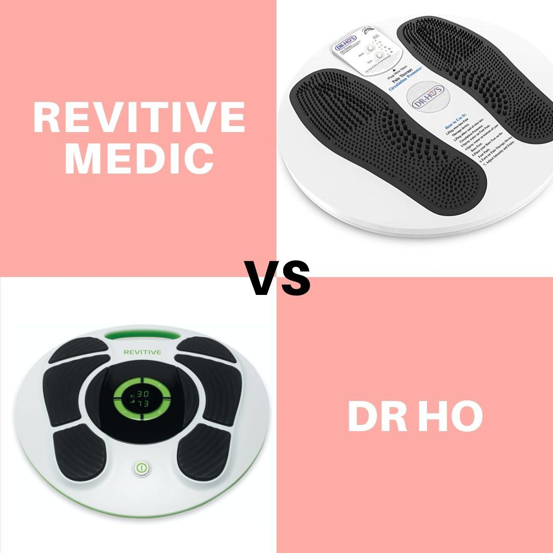 Revitive Medic vs Dr Ho - best foot circulation booster