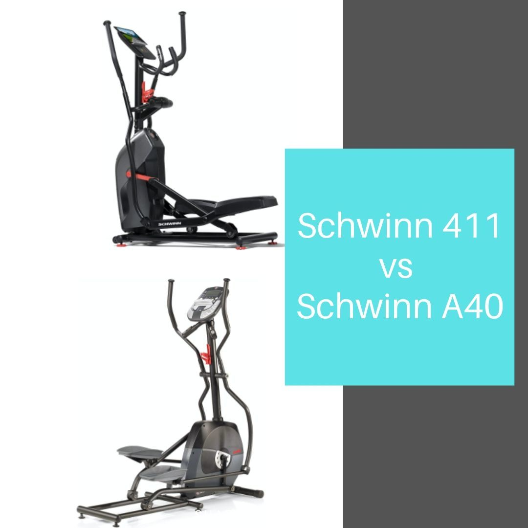 Schwinn 411 vs Schwinn A40 - comparison of the elliptical machines