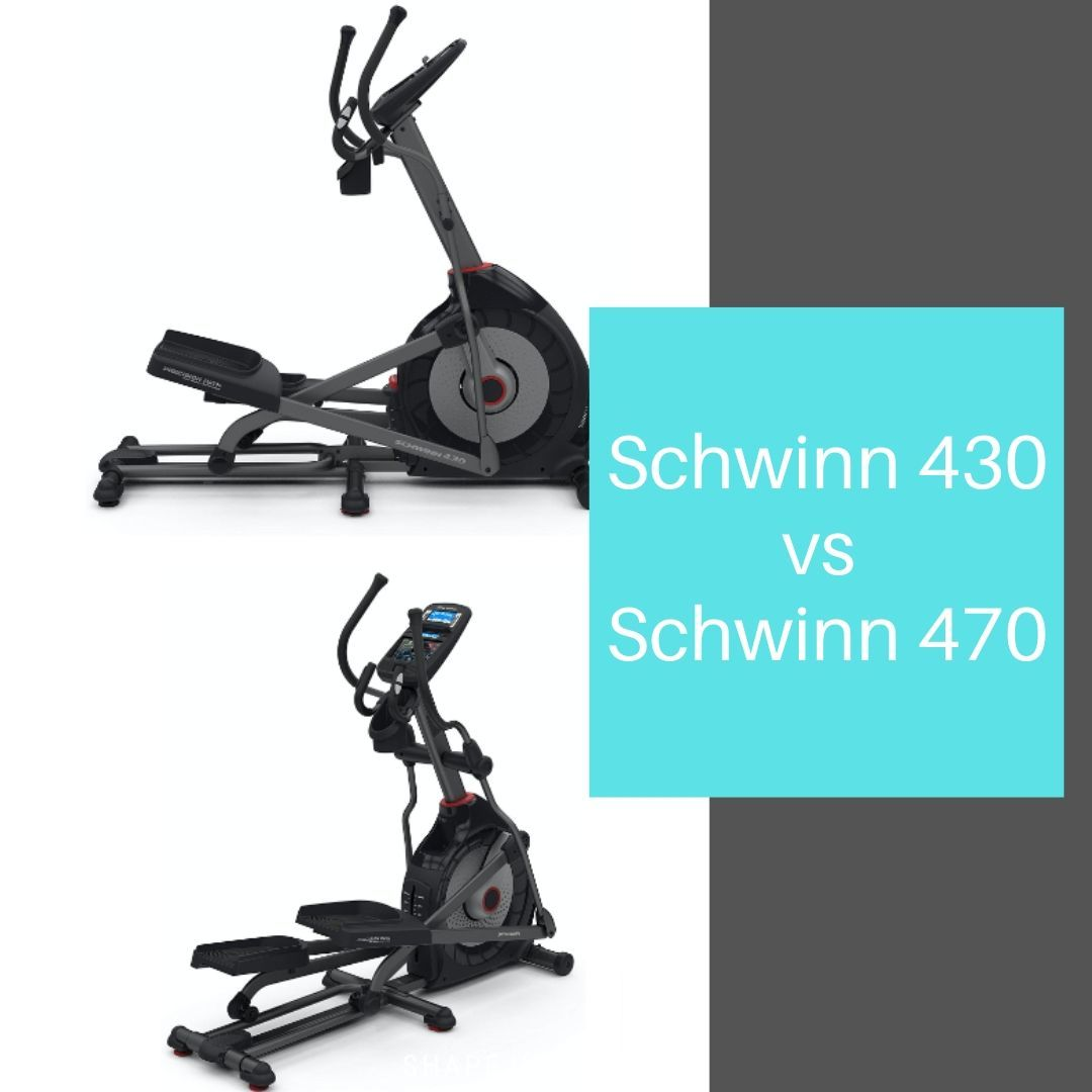 Schwinn 430 vs 470 - comparison of the elliptical machines