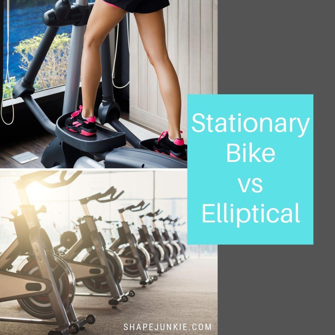 Stationary Bike vs. Elliptical