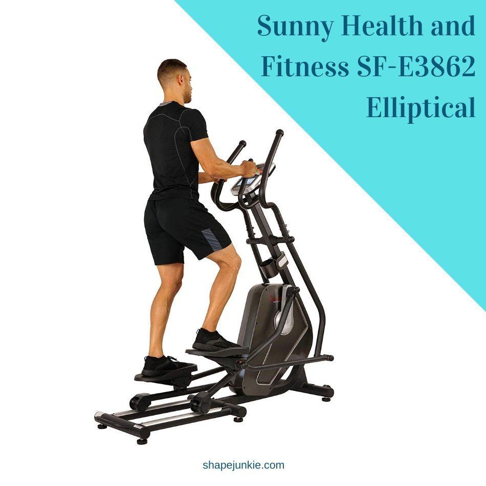 Sunny Health and Fitness SF-E3862 Elliptical