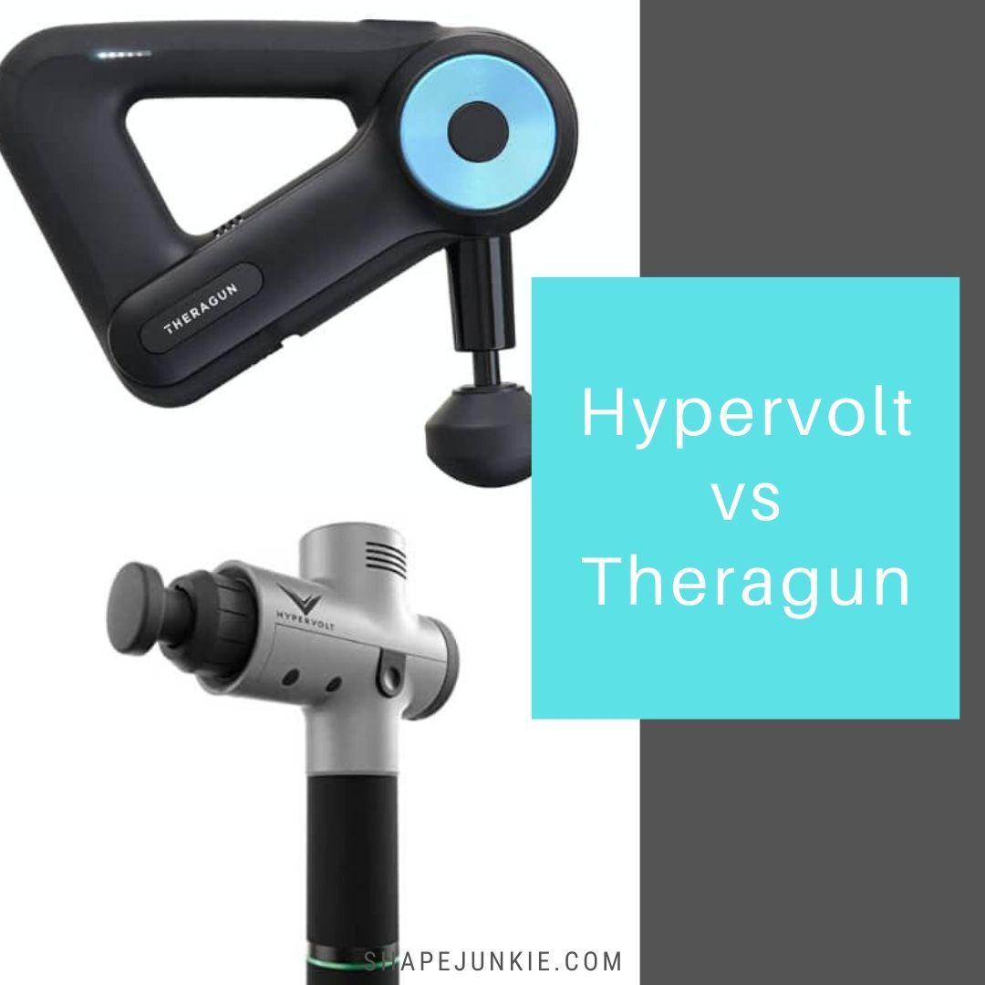 Hypervolt vs. Theragun - best percussion massager