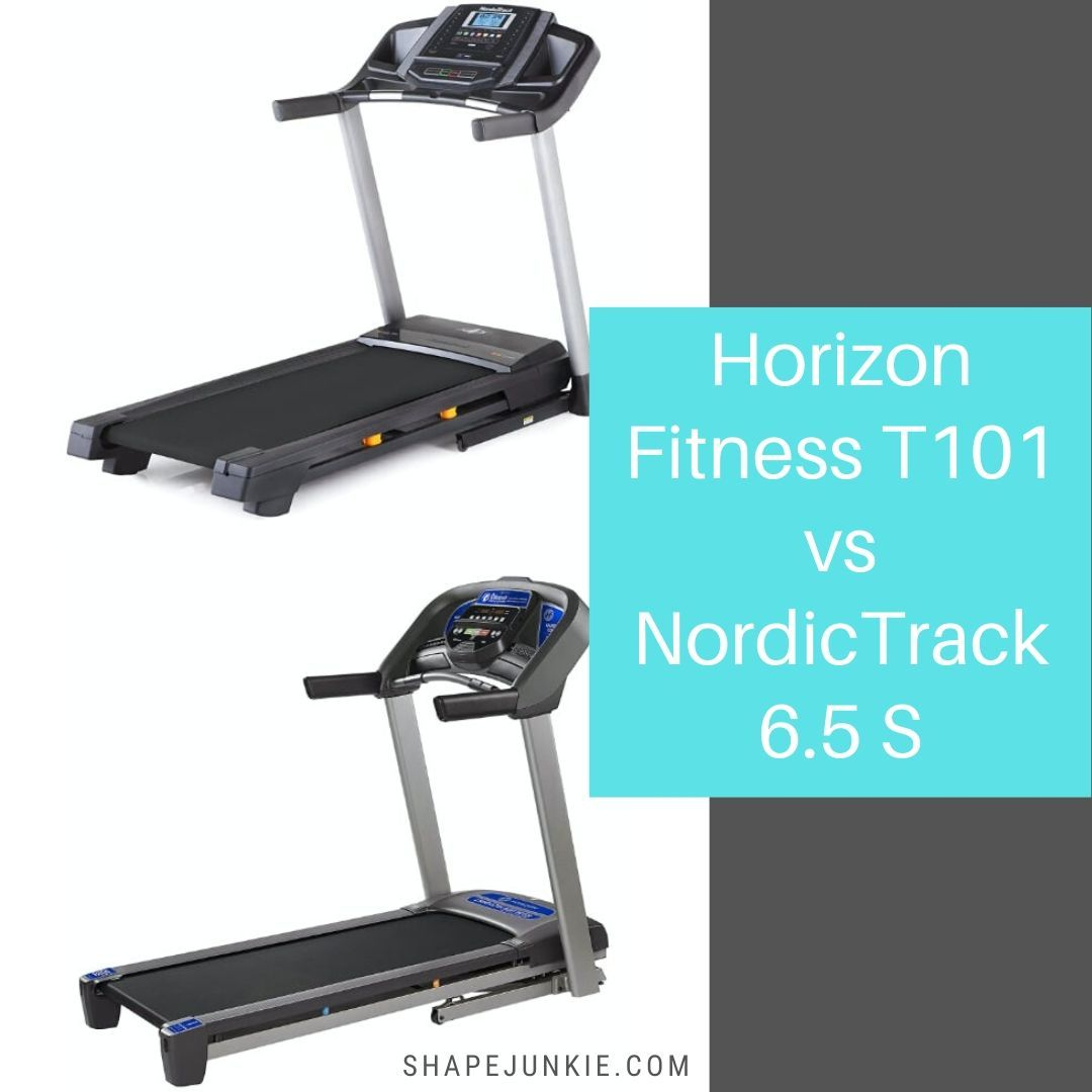 Horizon Fitness T101 vs. NordicTrack 6.5 S Treadmills