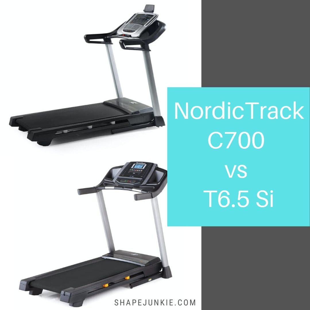 NordicTrack C700 vs. T6.5 Si treadmills