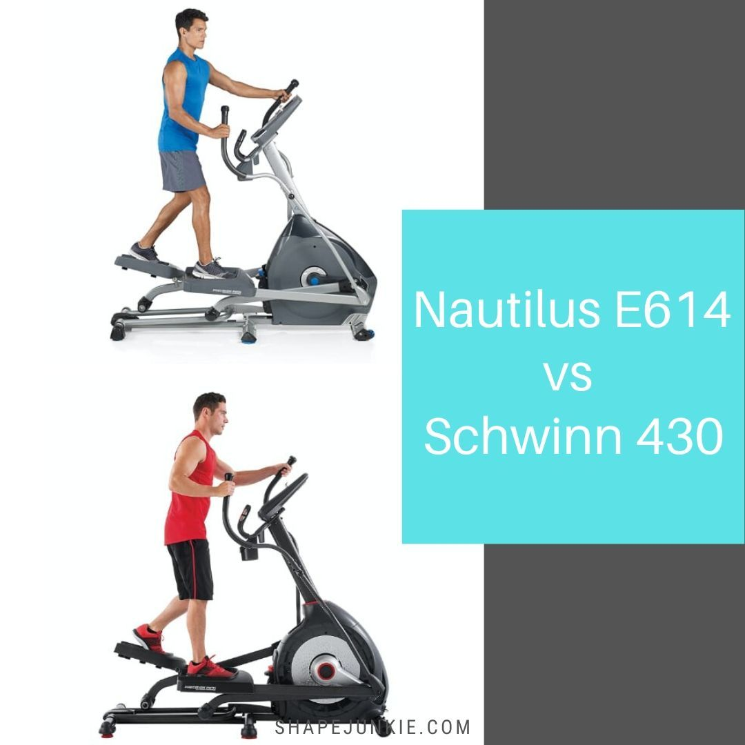 Nautilus E614 Elliptical vs Schwinn 430 Elliptical