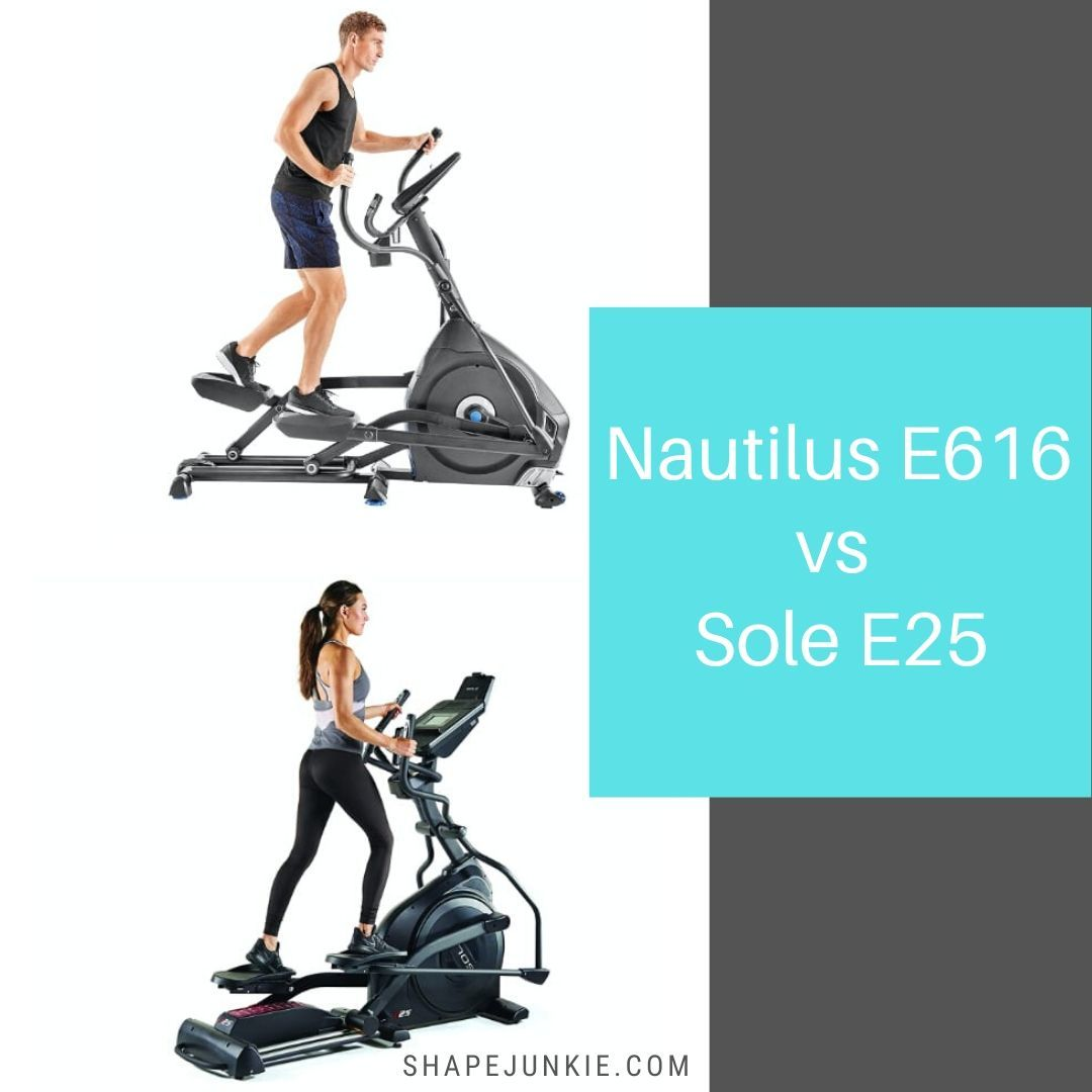 Nautilus E616 vs Sole E25 comparison and review