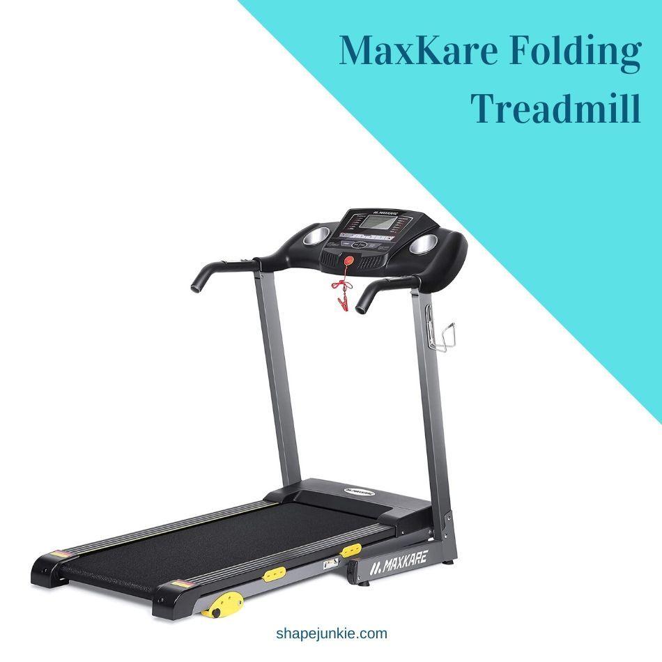MaxKare Folding Treadmill Review
