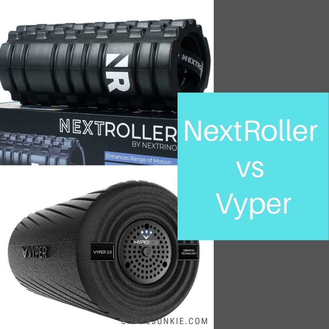 NextRoller vs Vyper Vibrating Foam Roller Comparison