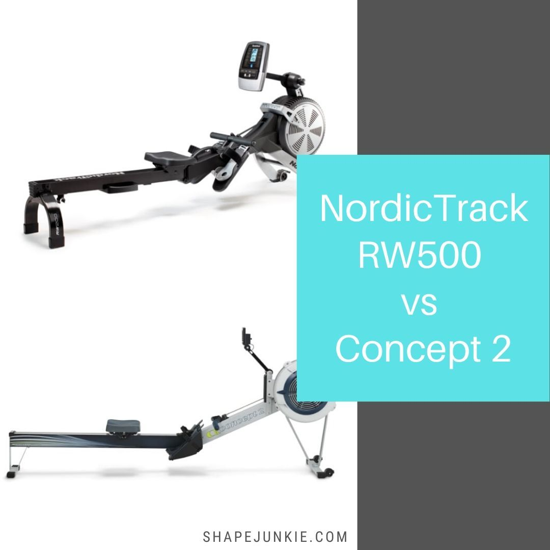 NordicTrack RW500 Rower vs Concept 2 rowing machines