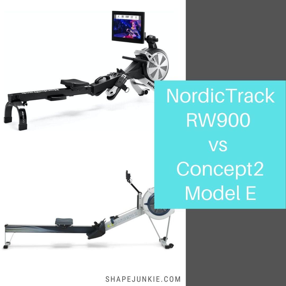 NordicTrack RW900 vs Concept2 Model E rowing machines