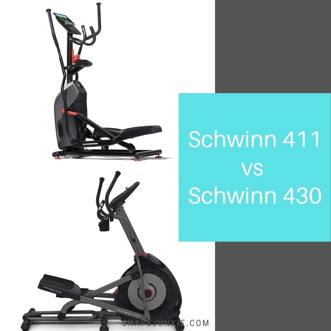 Schwinn 411 vs Schwinn 430 Ellipticals