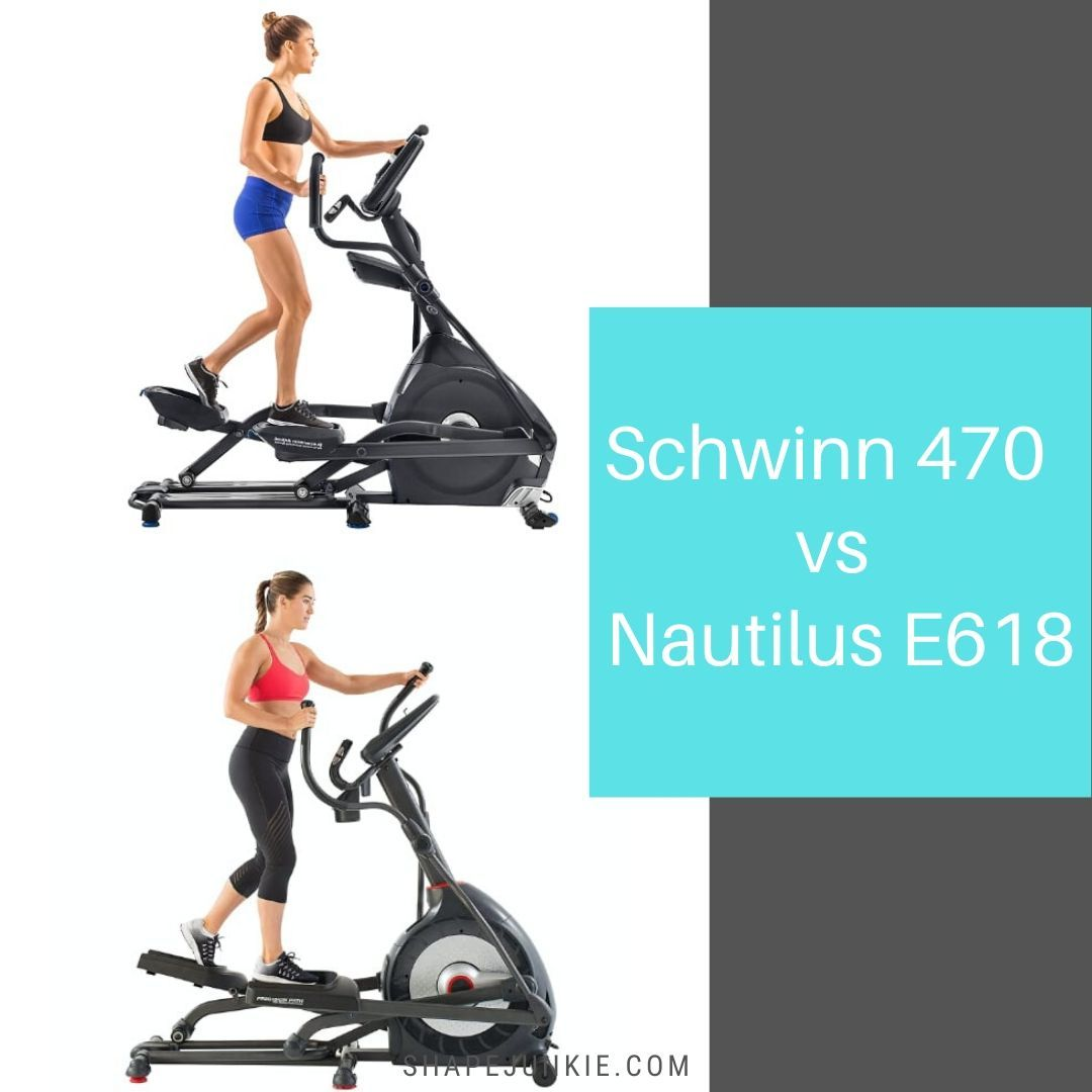 Schwinn 470 vs Nautilus E618 comparison