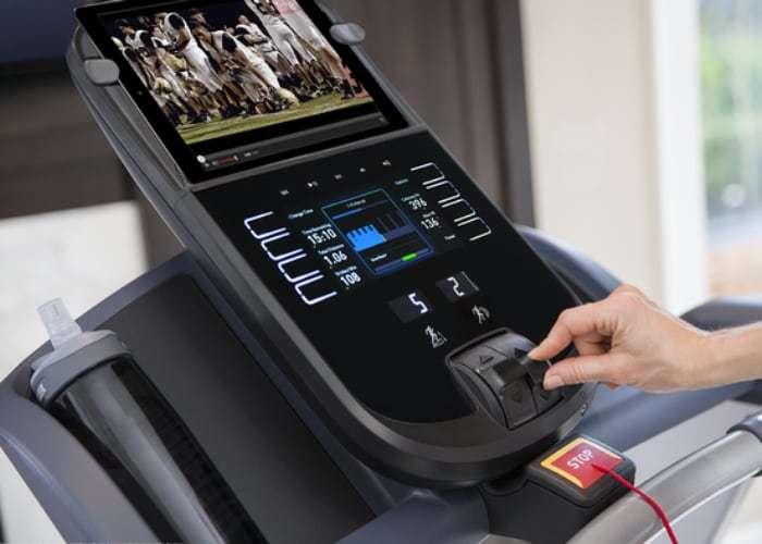 Precor TRM 445 treadmill console