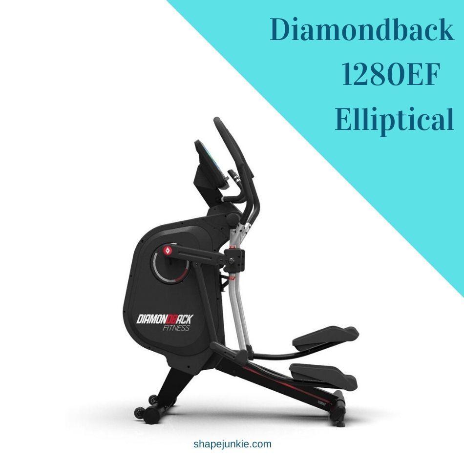 Diamondback 1280EF Adjustable Stride Elliptical Trainer review