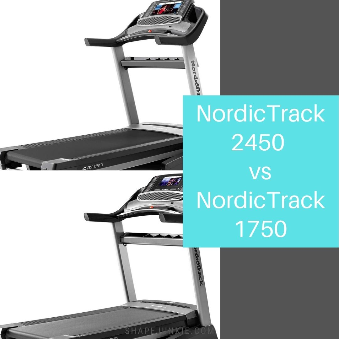 NordicTrack 2450 vs NordicTrack 1750 comparison
