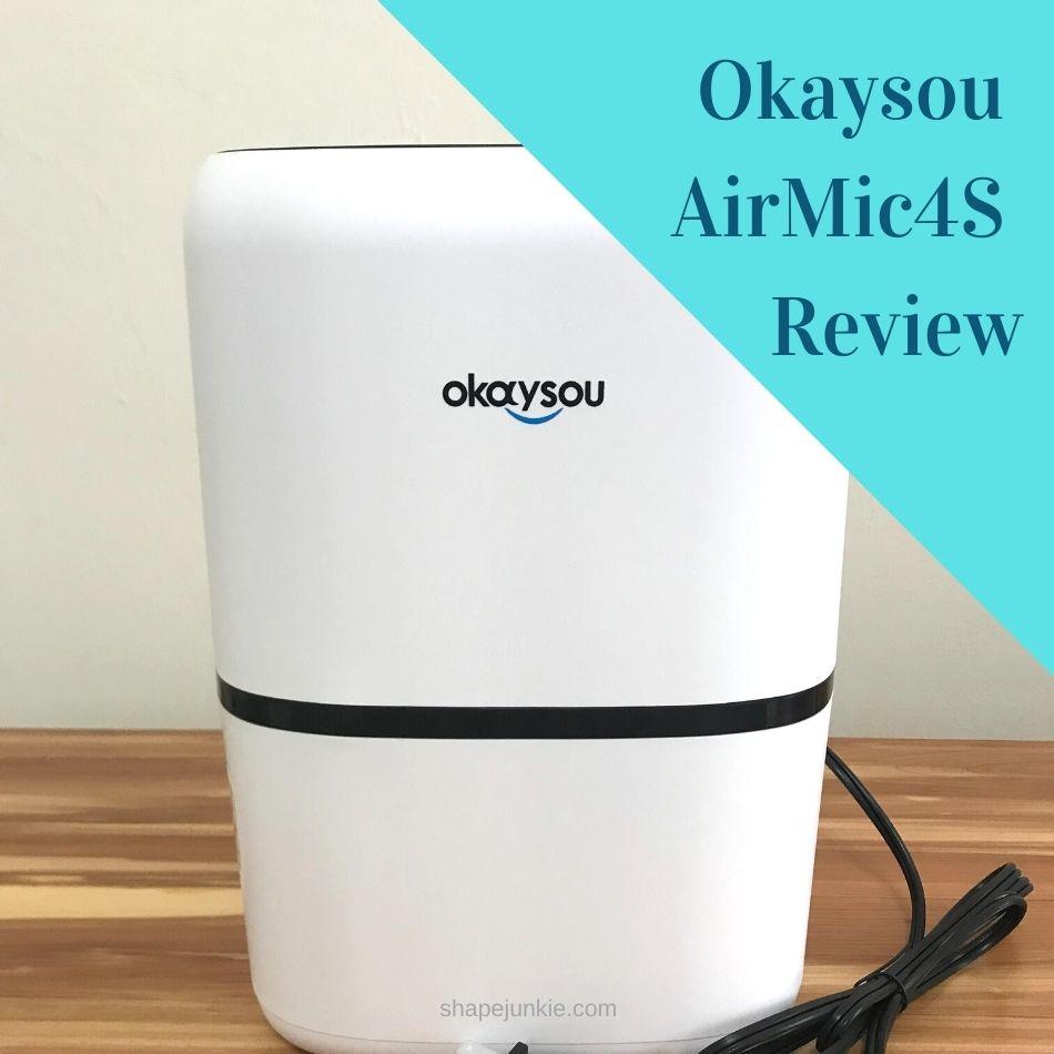 Okaysou AirMic4S air purifier review-2