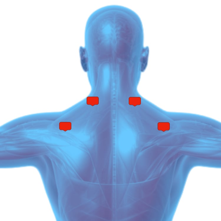 Tens unit placement for shoulder pain