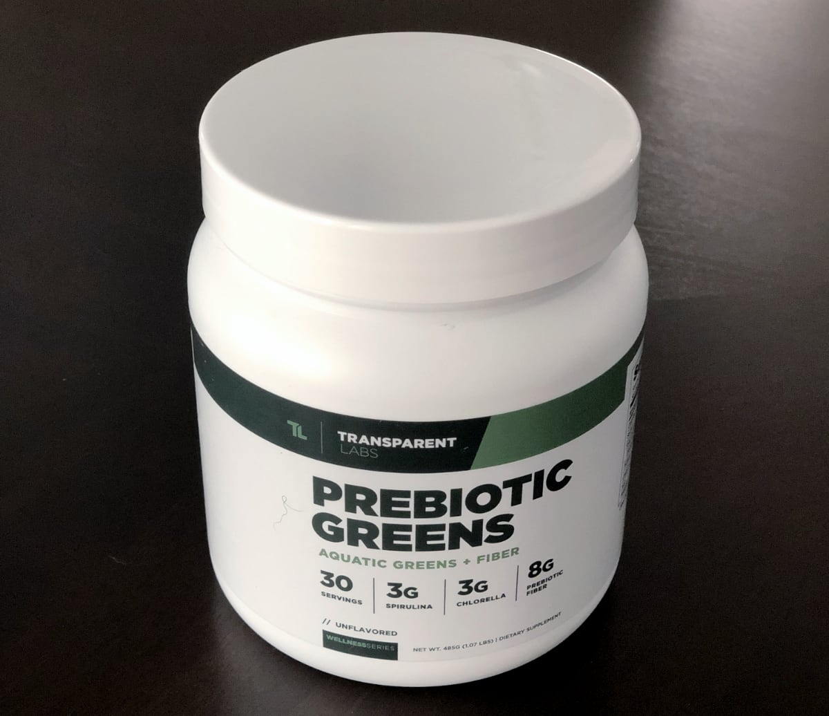 Transparent Labs Prebiotic Greens_2