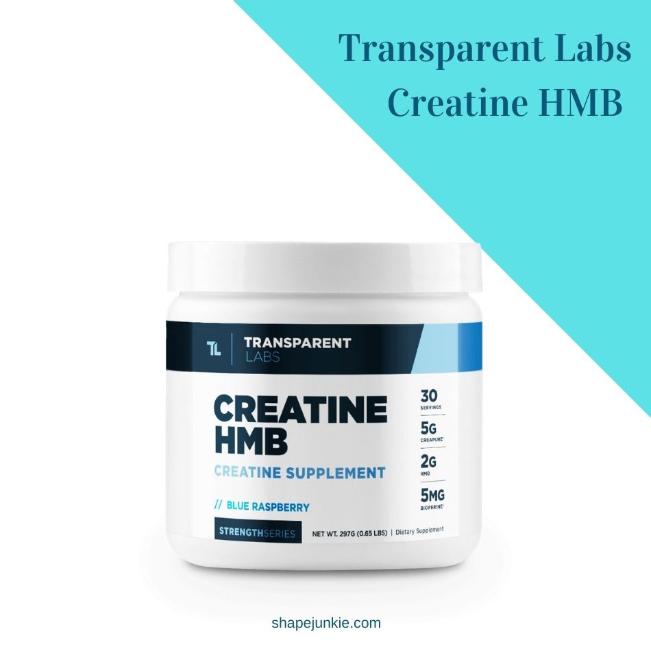 Transparent Labs StrengthSeries Creatine HMB Review