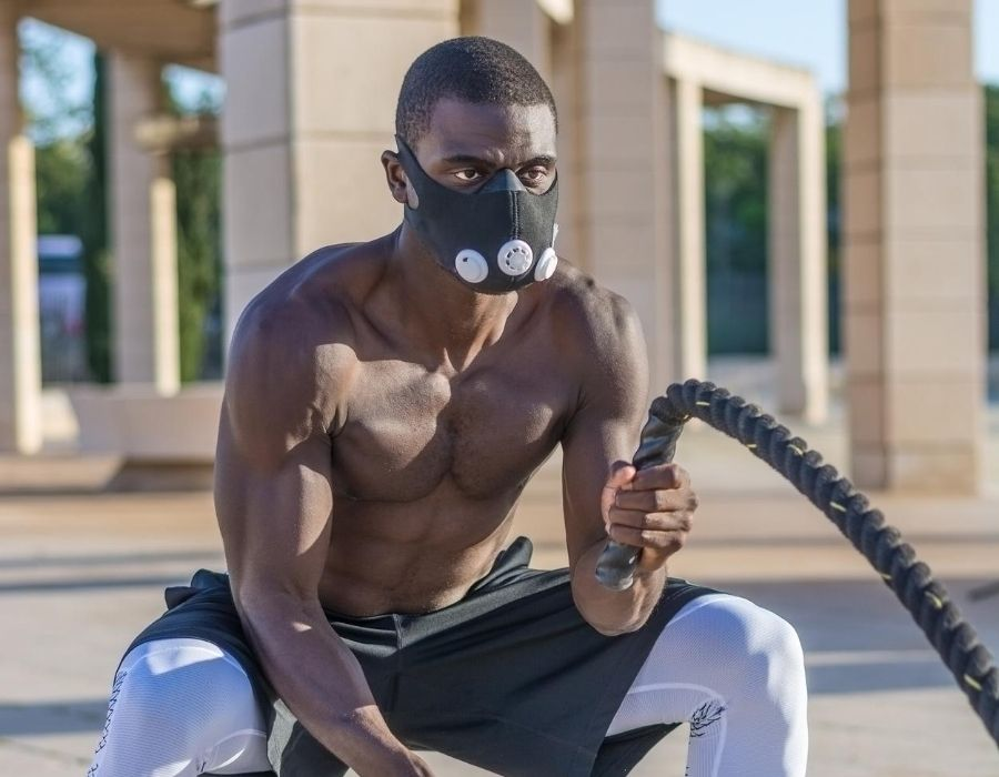 training with high altitude training mask