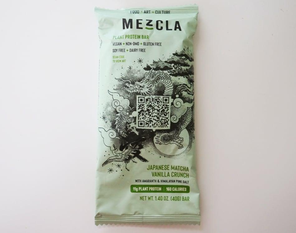Mezcla Japanese Matcha Vanilla Protein Bar