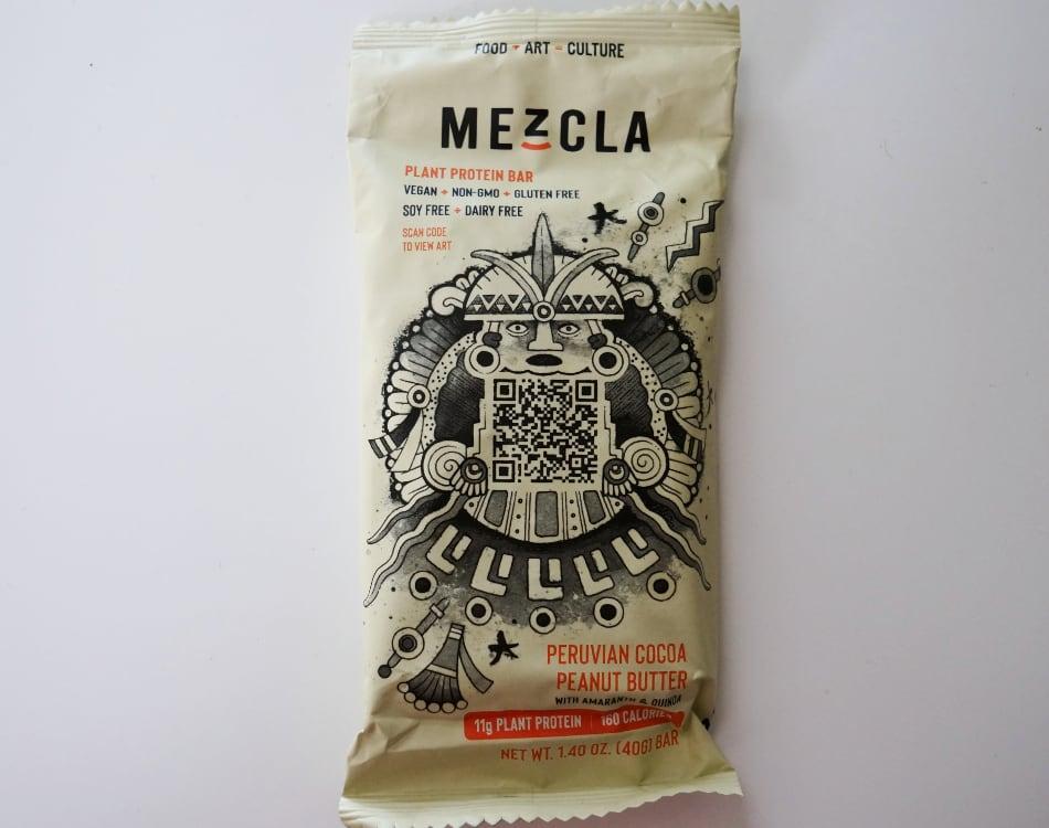 Mezcla Peruvian Cocoa Peanut Butter Protein Bar