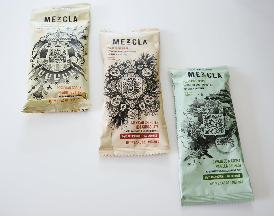 Mezcla protein bars